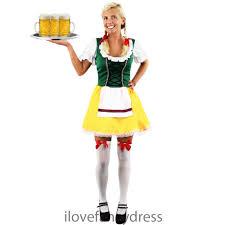 Beer Maid Wench Costume Oktoberfest Couple Gretchen German Fancy by Bavarian Beer Costume Oktoberfest Fancy Dress Womens German
