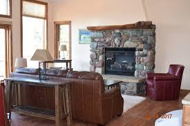 Bed In Living Room Triple Divide 338 The Cottages At Glacier