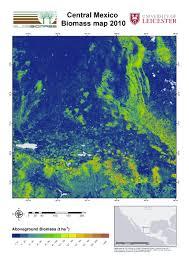 Central Mexico Map by Regional Biomass Mapping Mexico U2013 Esa Due Globbiomass