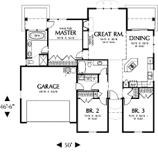 floor plans 1500 sq ft traditional style house plan 3 beds 2 00 baths 1500 sq ft plan