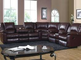 wyoming godiva 3 pc reclining sectional by one80 3 pc power