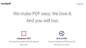 Small Pdf Smallpdf Compresses Pdfs From The Cloud