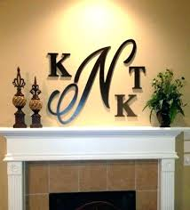 metal wall letters home decor metal letters home decor bright idea letter wall also s wood d cor