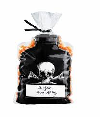 Halloween Gift Wrap - halloween treat bags fancy gift wrap
