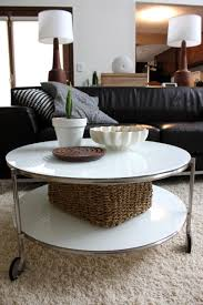 Round Coffee Table Ikea by Furniture Painted Console Tables Ikea With Shelf For Home