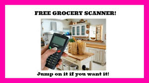 hurry openings for the free grocery scanner