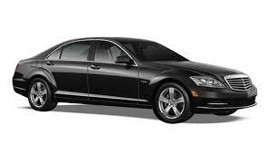 mercedes black car mercedes sedan black car limo