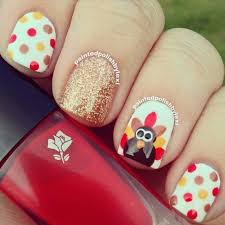 Thanksgiving Day Nail And Easy Thanksgiving Day Nail Ideas