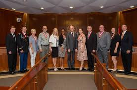 Florida Cabinet Governor Scott Presents Shine Awards To Eight Outstanding Florida