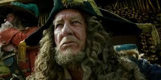 geoffrey rush feels huge pirates caribbean