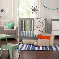 Mini Crib Comforter by Babyletto Fleeting Flora 4 Piece Mini Crib Bedding Set Free Shipping