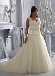 robe mari e grande taille robe mariée grande taille 2016 à bretelles dentelle à traîne