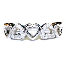 and rings 5 hearts promise ring beautiful promise rings