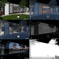 making of lake lugano house 3d architectural visualization