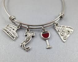 themed bracelets italian jewelry etsy