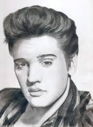 37 elvis art images elvis presley rock roll
