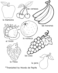 astonishing printable pictures of fruits and vegetables coloring