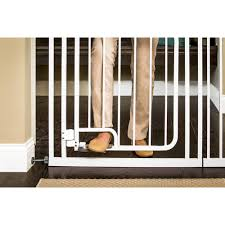 Baby Gate Hardware Hands Free Walk Through Gate Walmart Com
