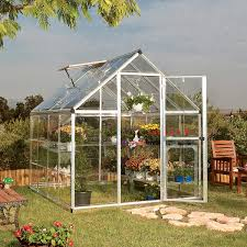 Palram Polycarbonate Greenhouse Harmony 6 U0027 X 8 U0027 Greenhouse With Starter Kit