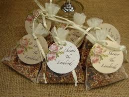 bird seed wedding favors 24 best beautiful organza bags images on organza