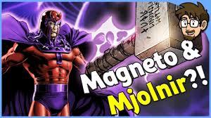 can magneto lift thor s hammer mjolnir x men youtube