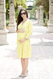 yellow floral wrap dress the classified chic