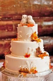fall wedding cake toppers autumn wedding cakes cakes ideas