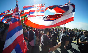 Hawaiian Flag Hawaiian Federal Recognition The Lessons From Standing Rock