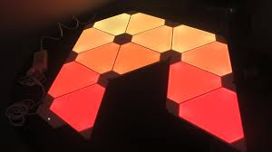 pattern wall lights nanoleaf aurora smart wall lighting for your inner artist review