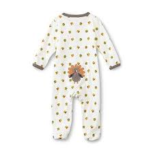 editions newborn s thanksgiving sleeper pajamas turkey