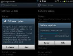 what is the new android update t mobile s samsung galaxy s3 android 4 1 jelly bean update
