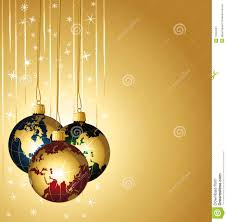 world christmas colorful world christmas balls stock image image 11654231