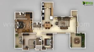 Floor Plan Software 3d Modern 3d Floor Plan Design Creator Yantramstudio U0027s Portfolio On