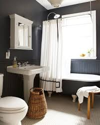 White Paneling For Bathroom Walls - enthralling black and white bathroom wall decor with interior