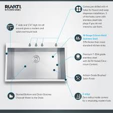ruvati rvh8001 drop in overmount 33