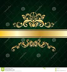 Invitation Card Design Green Invitation Card Design Stock Illustration Image 69528010