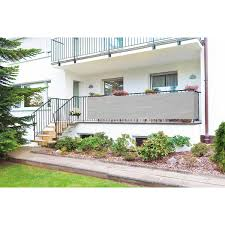 obi sichtschutz balkon obi balkonbespannung grau 500 cm x 90 cm kaufen bei obi