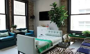 Daybed In Living Room Tufted Daybed Living Room Contemporary With Blue Leather Chairs