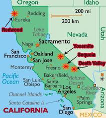 california map national parks megalopolis yosemite national park
