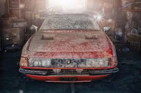 Barn Finds For Sale Australia A One Off Filthy Ferrari Found Rotting After 40 Years In A