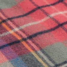 pink tartan tartan scarf