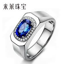natural sapphire rings images 2 03 kt sri lanka natural sapphire ring 18k jewelry diamond men jpg