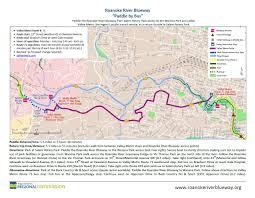Salem Virginia Map by Maps Roanoke River Blueway