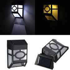 Solar Wall Sconce Solar Powered Wall Lanterns Solar Outdoor Wall Mounted Lighting