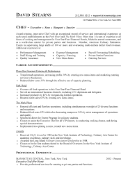 Free Job Resume Examples by Professional Resume Cover Letter Sample Chef Resume Free