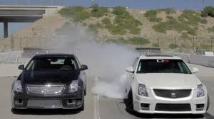 cadillac cts v 0 to 60 motor trend lines up stock and tuned cts v wagons at dragstrip