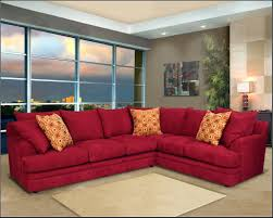 recliners chairs u0026 sofa red microfiber sectional sofa with