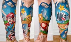 90 u0027s video game tattoos tattoo com