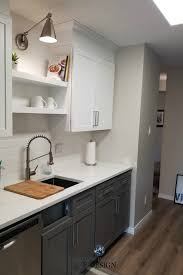 small kitchen grey cabinets e design a small kitchen makeover m interiors