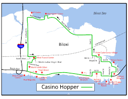 Chicago Trolley Map by Map Casino Hopper 2017 Update Pdf Jpg